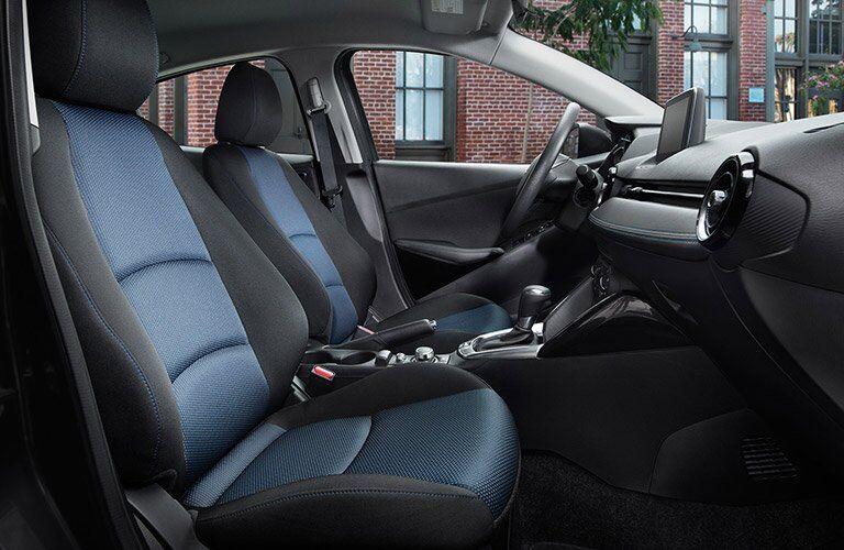 2017 Toyota Yaris iA interior front seats