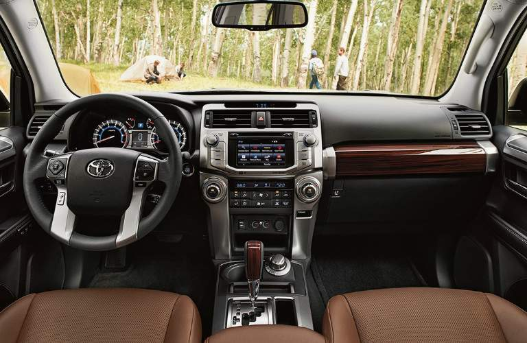 2018 Toyota 4Runner interior front seating area