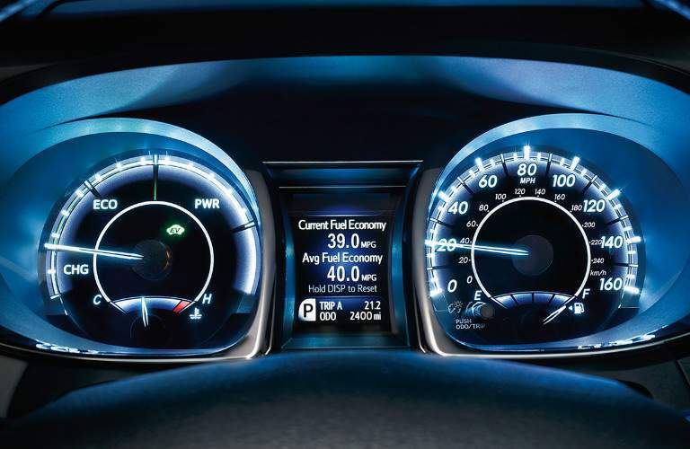 2018 Toyota Avalon Hybrid instrument panel