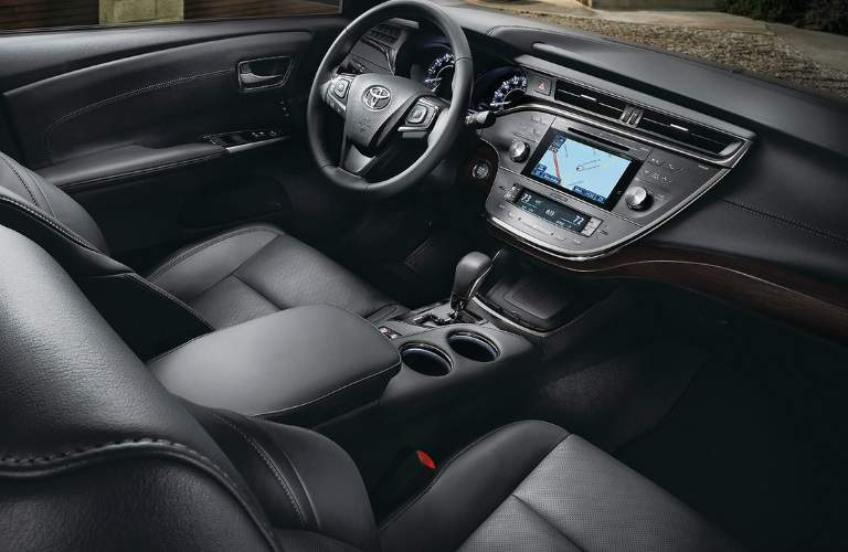 2018 Toyota Avalon Hybrid interior front seating area