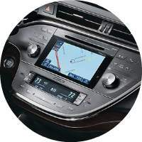 navigation screen inside 2018 Toyota Avalon