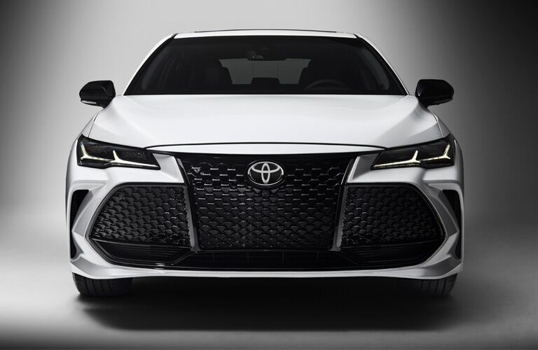 2019 avalon hybrid from front