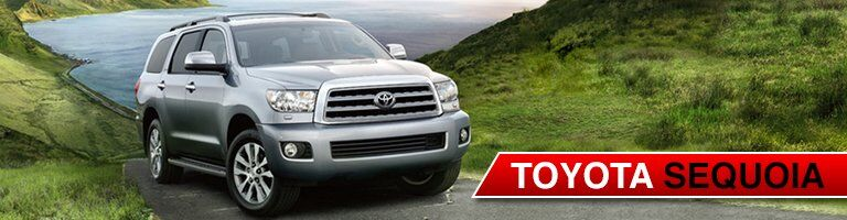 Toyota Sequoia front side view