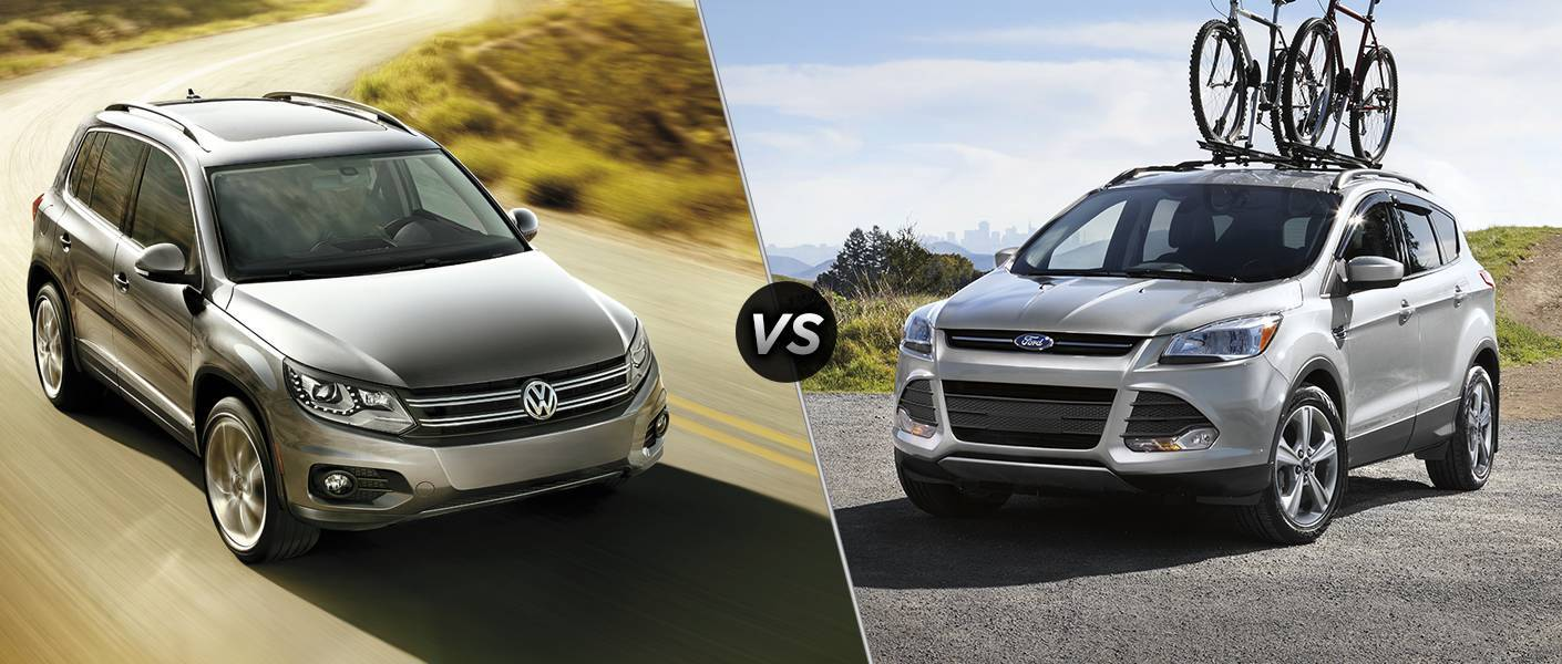 2016 Volkswagen Tiguan vs 2016 Ford Escape