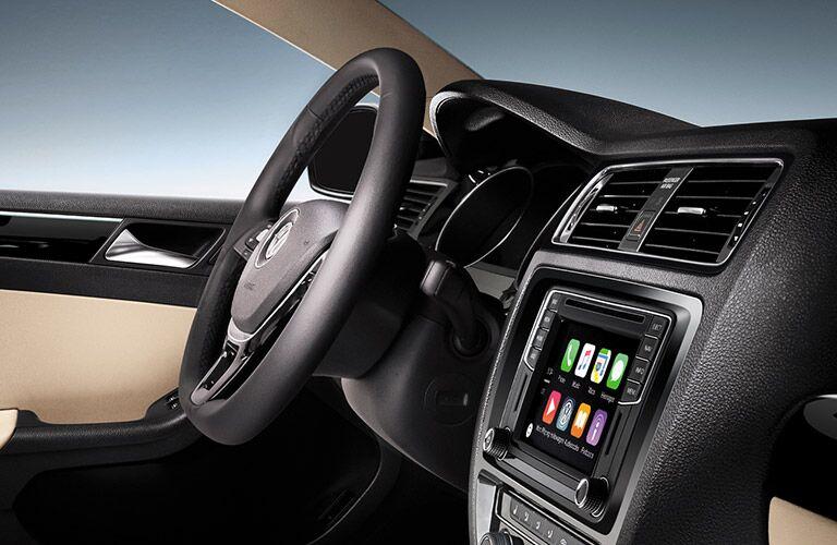 2016 Volkswagen Jetta Hybrid interior driver dash