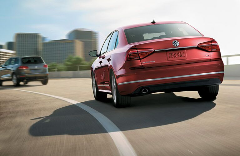 2016 Volkswagen Passat exterior rear red