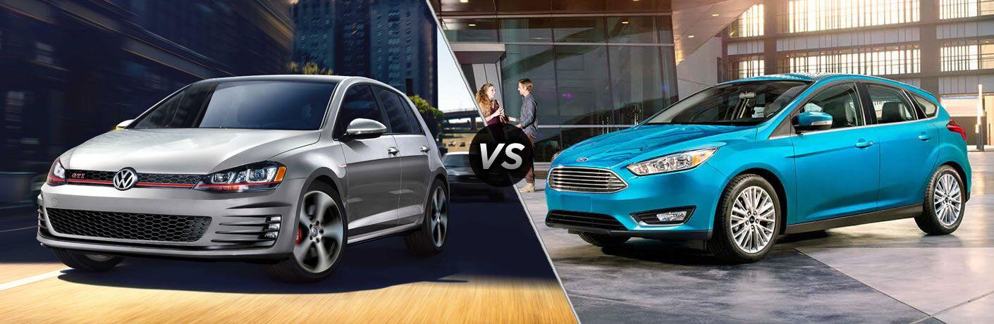 2017 Volkswagen Golf vs 2017 Ford Focus