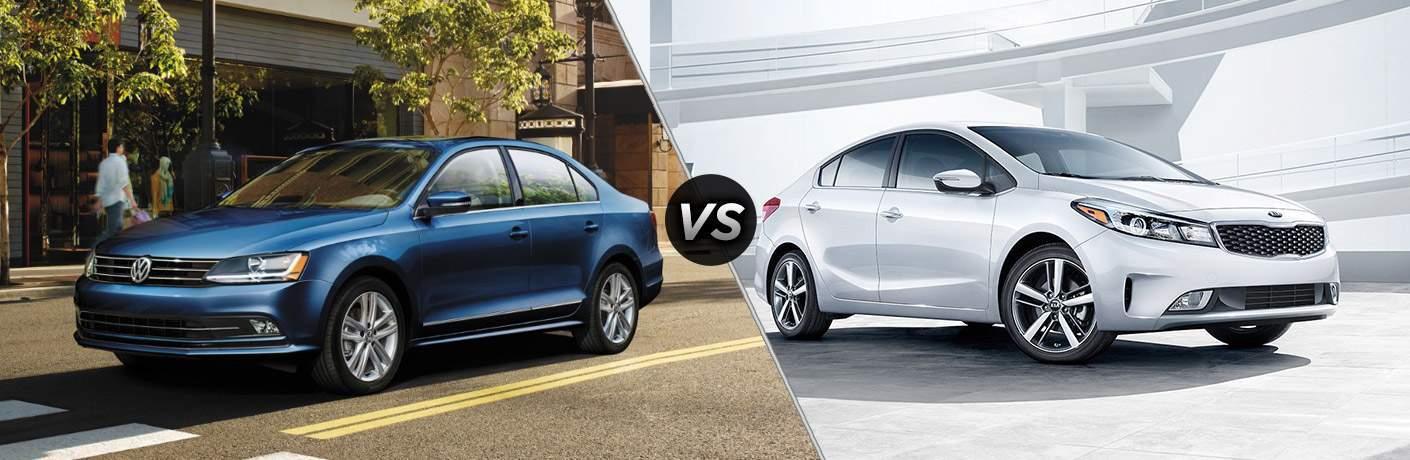 2017 Volkswagen Jetta vs 2017 Kia Forte