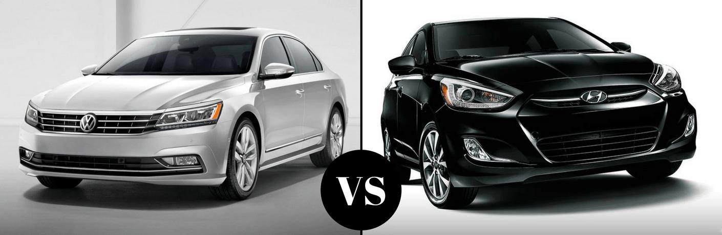 2017 Volkswagen Passat vs 2017 Hyundai Accent