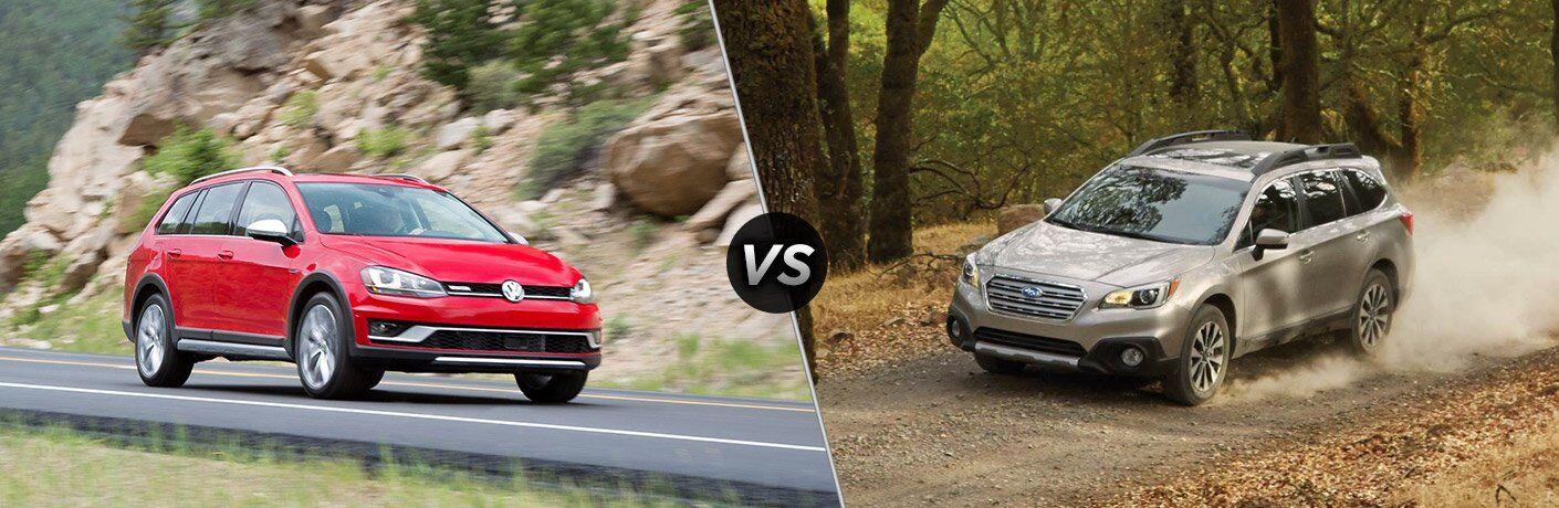 2017 Volkswagen Alltrack vs 2017 Subaru Outback