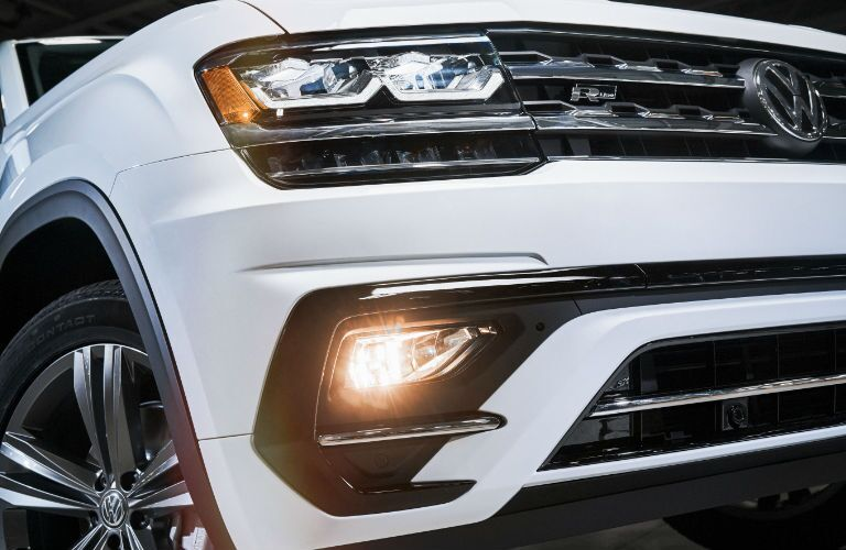 2018 Volkswagen Atlas LED headlights