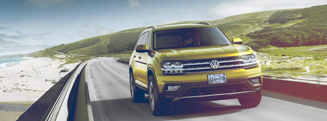 2018 Volkswagen Atlas available exterior paint color options