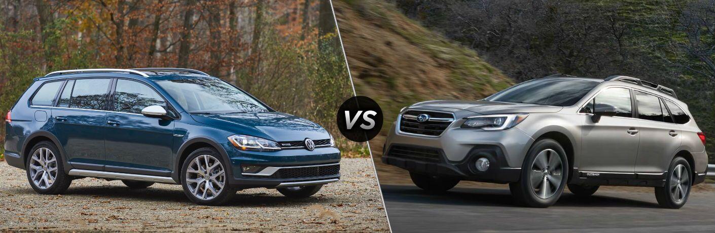 2018 Volkswagen Golf Alltrack vs 2018 Subaru Outback