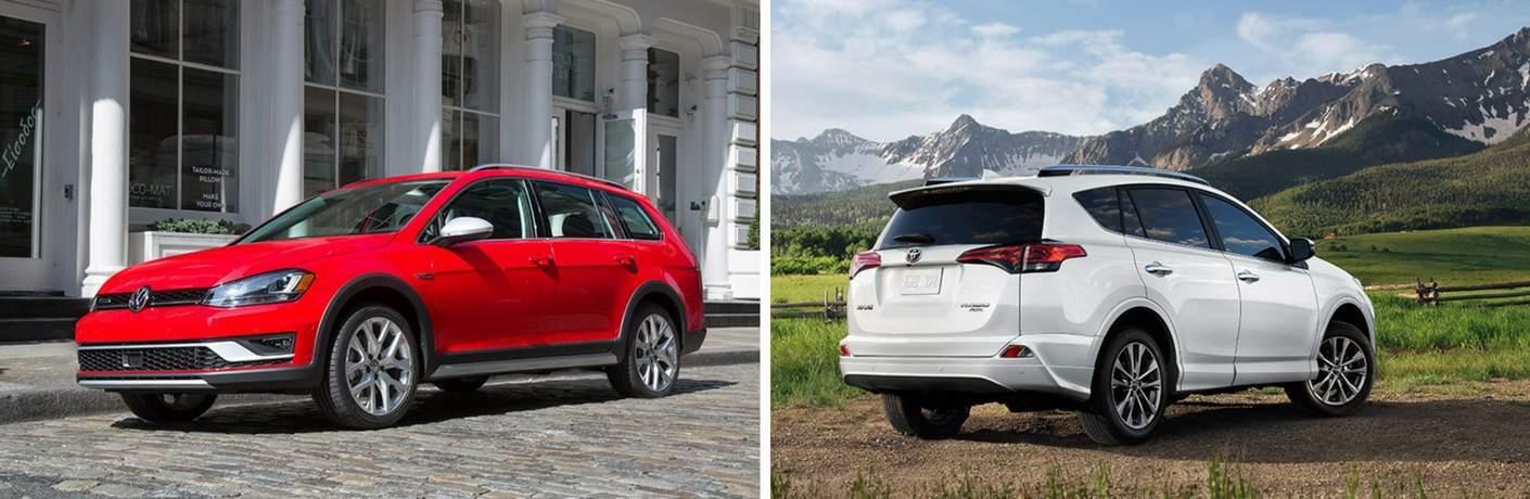 2017 Volkswagen Golf Alltrack vs 2017 Toyota RAV4