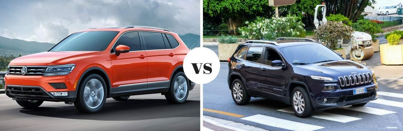 2018 Volkswagen Tiguan vs 2018 Jeep Cherokee