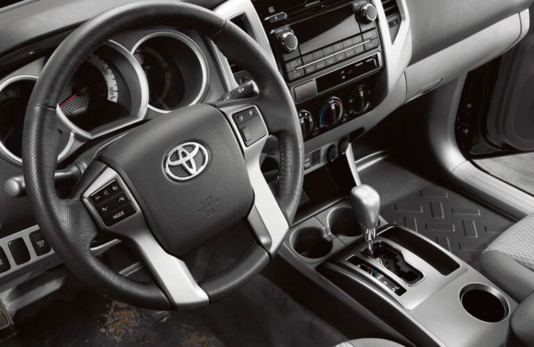 2014 Toyota Tacoma interior cabin