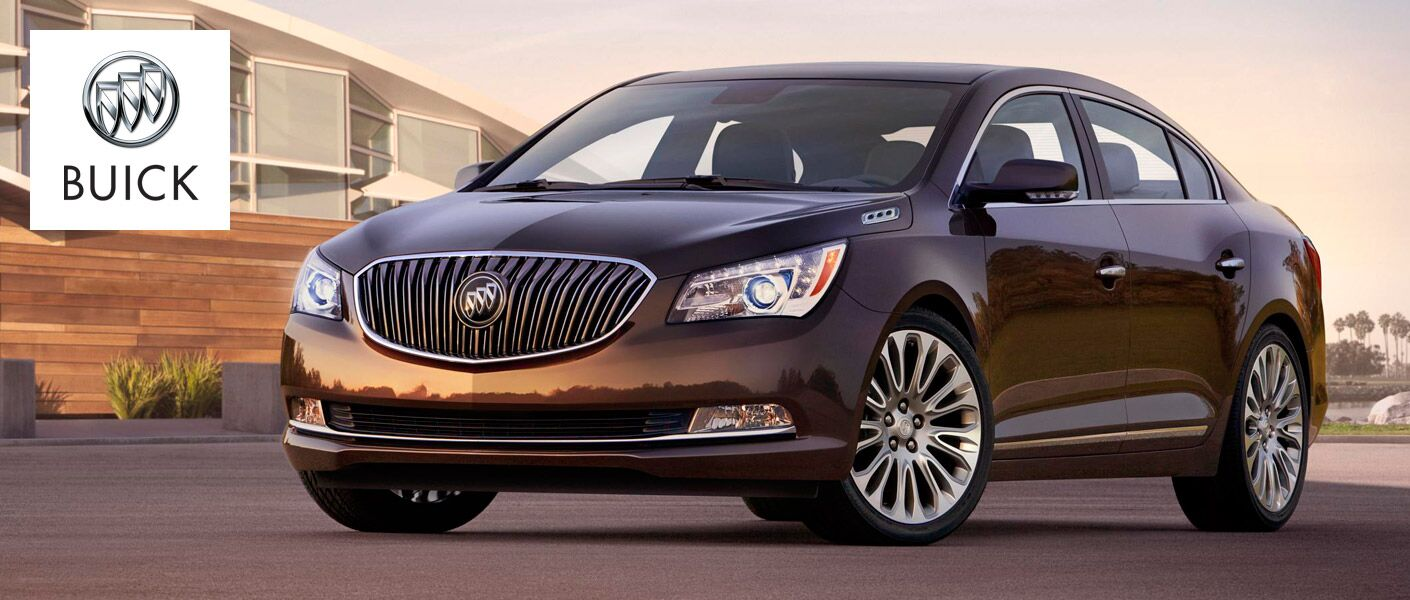 Front of the 2015 Buick Lacrosse
