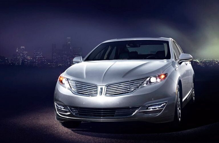 Front of the 2015 Lincoln MKZ