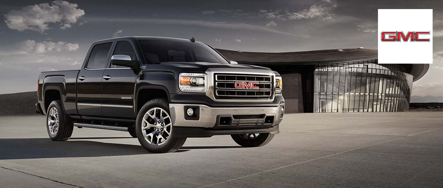 Exterior of the 2015 GMC Sierra 1500