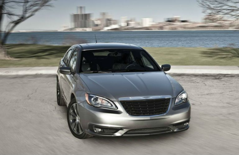 The Chrysler 200 features a sleek design inside and out.