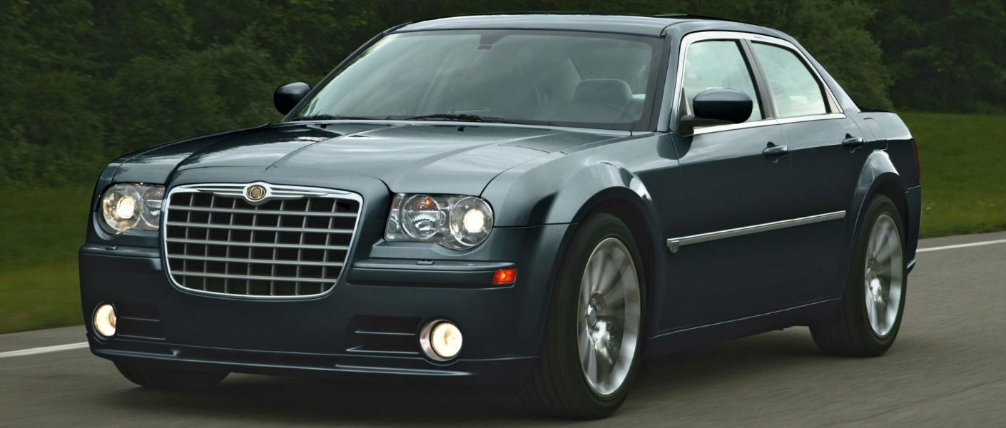 The Chrysler 300 is bold and spacious.