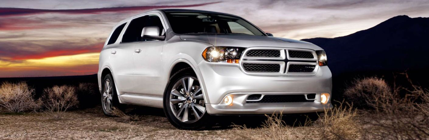 Dodge Durango at sunset