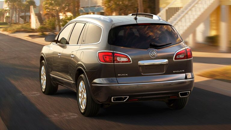 Rear of the 2015 Buick Enclave