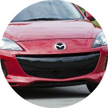 Mazda 3 front grille