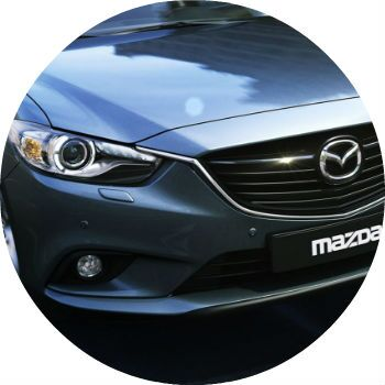 Mazda 6 front grille