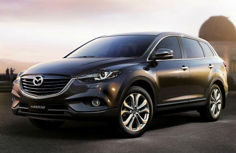Mazda CX-9 parked profile