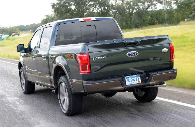 Used Ford F-150 Exterior Rear Profile