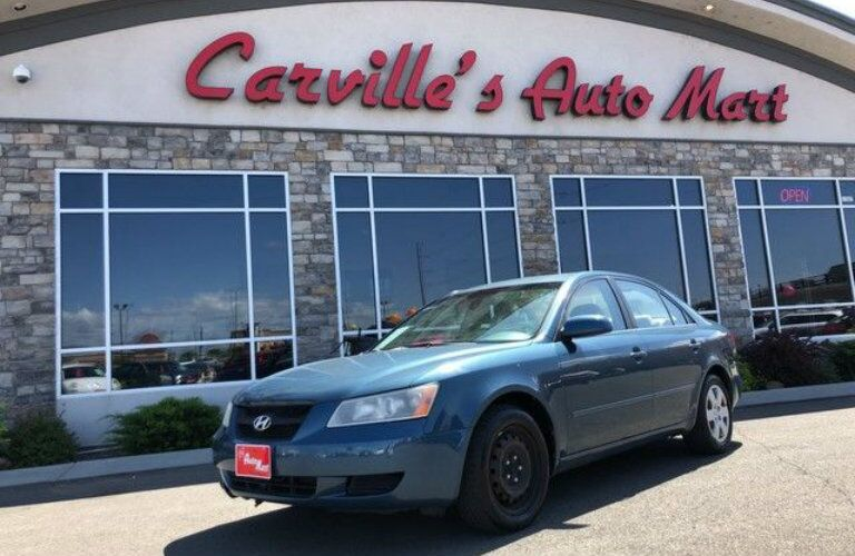 Used Hyundai Sonata at Carville's Auto Mart
