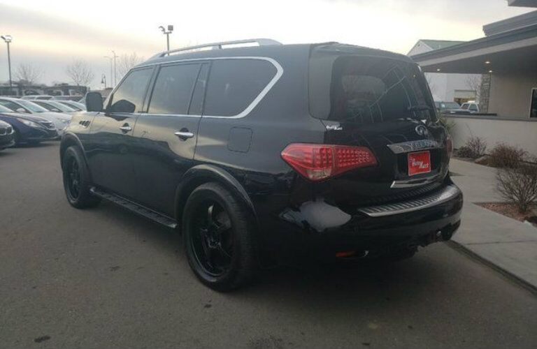 Black 2011 INFINITI QX56 at Carville's Auto Mart