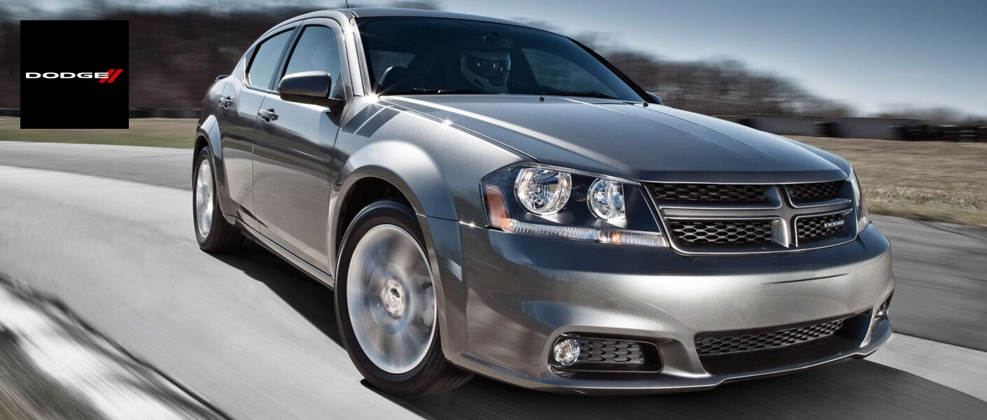 2017 Dodge Avenger on the road