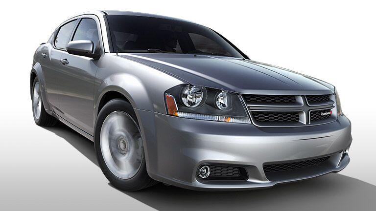 2014 Dodge Avenger front angle shot