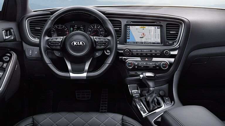 2015 Kia Optima driver field of view perspective