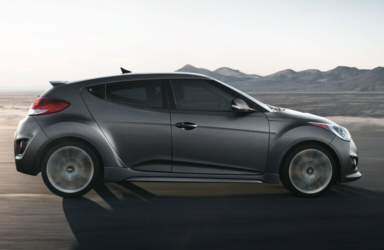 2016 Hyundai Veloster from passenger side
