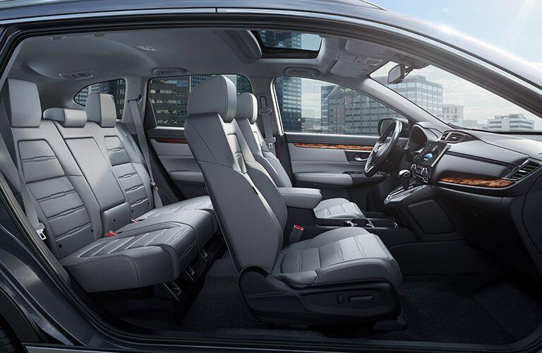 2017 Honda CR-V interior cross-section