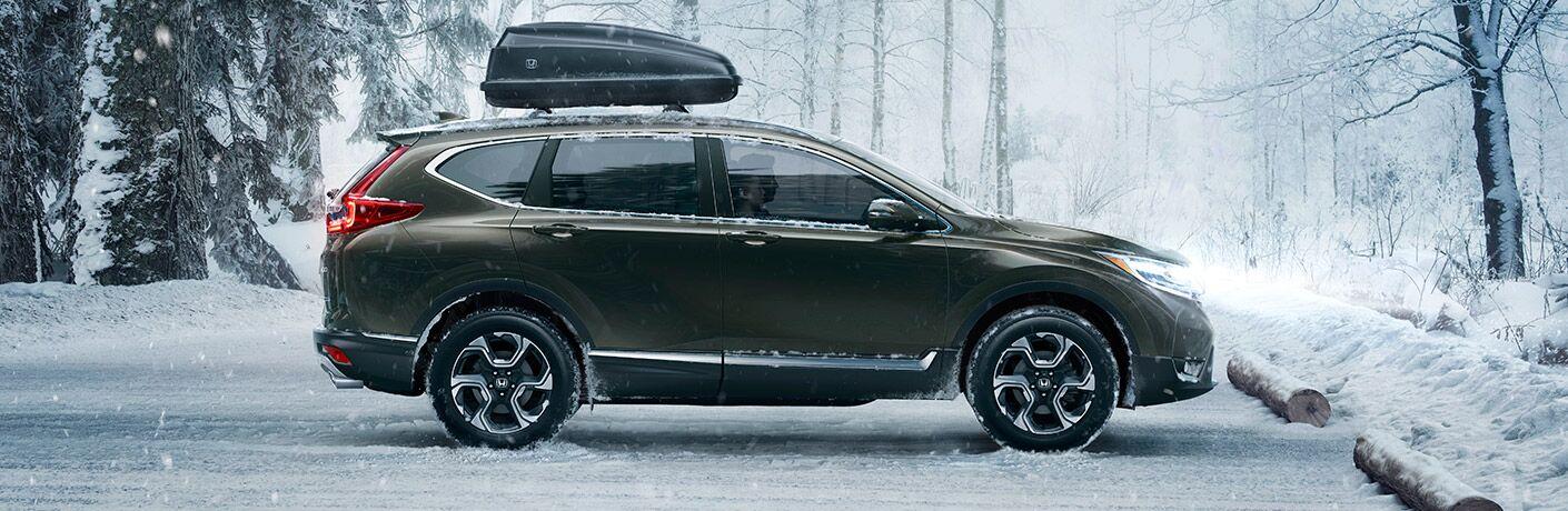 2017 Honda CR-V in the snow