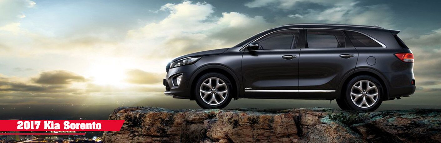 2019 kia sorento on cliff