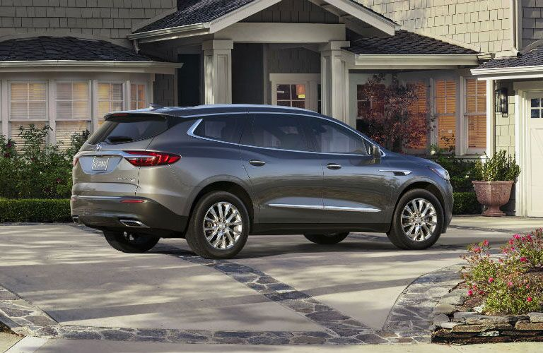 2018 Buick Enclave parked at a home