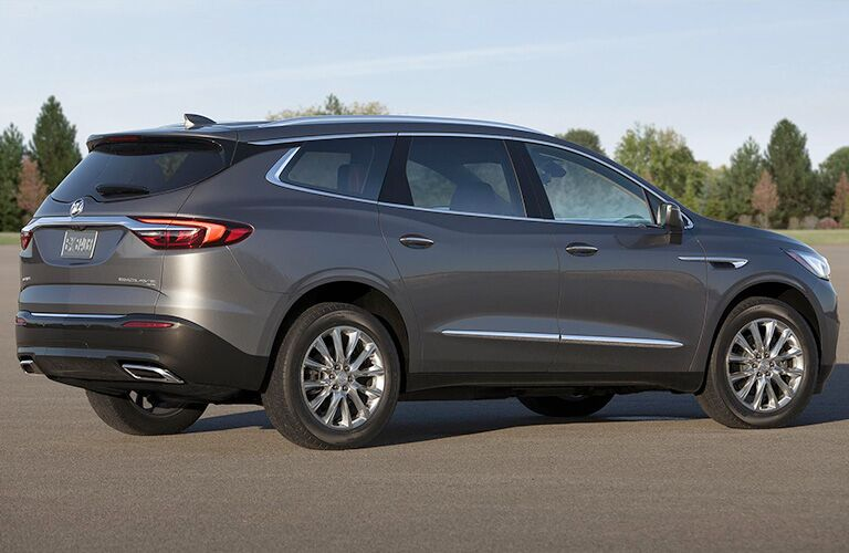 2018 Buick Enclave in front of a park