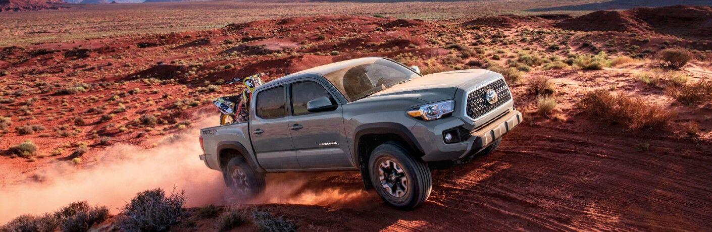 2018 Toyota Tacoma TRD Pro on trail