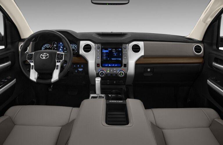 2018 Toyota Tundra interior front dash