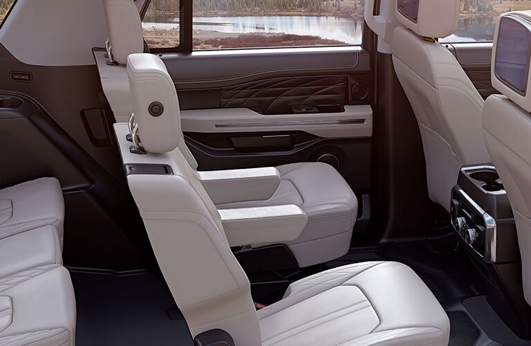 Seats in 2019 Ford Expedition