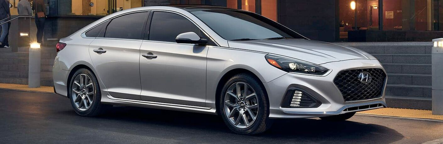 2019 Hyundai Sonata in the city
