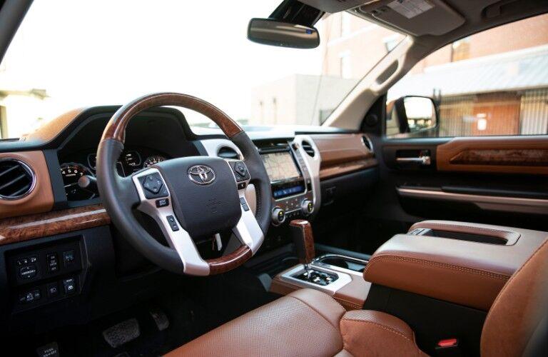 2019 Toyota Tundra interior dash