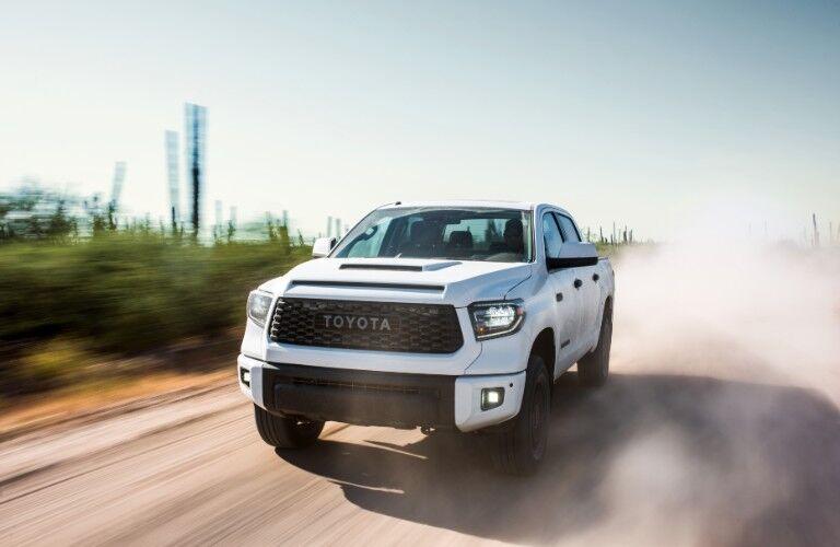 2019 Toyota Tundra on road