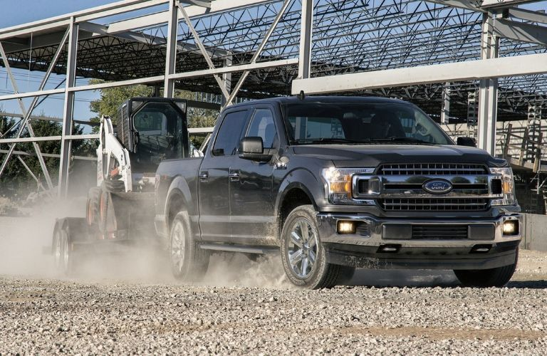 2021 Ford F-150 on job site