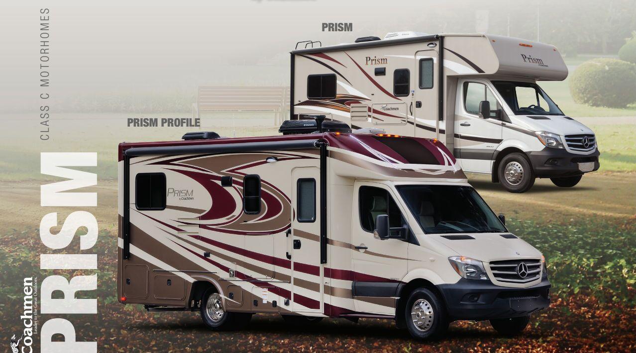 Coachmen Prism motorhomes vs. competitors Grand Junction CO